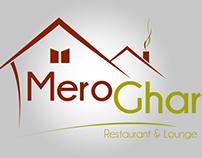 Logo Design - MeroGhar Restaurant & Lounge