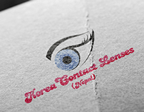 Logo Design - Korea Contact Lenses (Nepal)