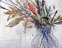 Still lifes. Watercolor. 2008-2016