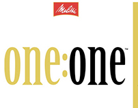 one:one packaging and POS display for Melitta