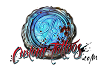 BlueBlood Custom Tattoos Brand Identity Package