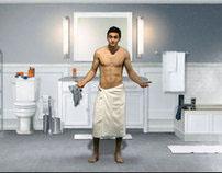 Gillette Bodyshaving - Interactive Microsite Campaign