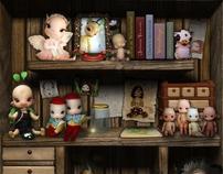 Charles' Creature Cabinet - Portfolio/Showcase