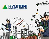 Hyundai Engineering & Construction Leaflet