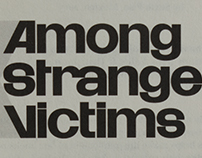 Among Strange Victims—Book Design