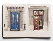 Doors of Belgrade.