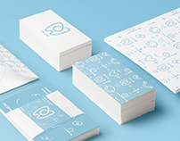 Corporate identity of the dental clinic DK.SPB
