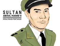 Illustration: Sultan Abdul Hamid II