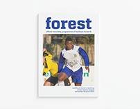 Waltham Forest FC Matchday Programme 2014-15