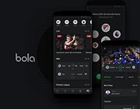 Exploration UI Bola App