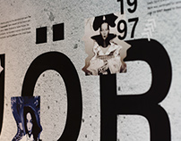 Björk Visual Timeline