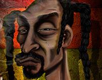Snoop Dogg By Gabriel Contreras
