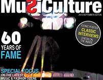Music Culture (Magazine Design)