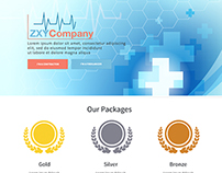 Landing Page For A Medical Agency