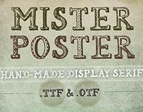 Mr Poster Font
