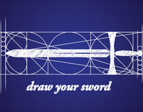 """Draw Your Sword"" Logo Design, Fall 2010 [Senior]"