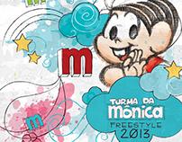 Style Guide Turma da Mônica - Freestyle - 2013