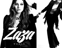 Restyling - ZAZA [logo + aplicaciones]