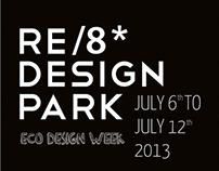 RE/8 DESIGN PARK 2013 - Eco Design and recycling art