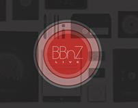 BBnZ LIVE- Brand Identity