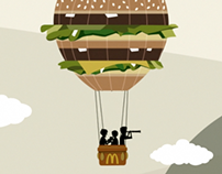 McDonalds Big Mac Animation