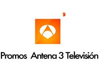 Promos for Antena 3 Televisión