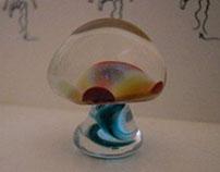 Glowing Glass Amanita