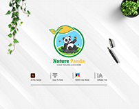 Nature Panda Logo Design