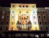 Projection Mapping for NH Hotel in Rome ( 2-2016 )