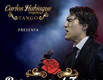 Cartel Exterior - Carlos Habiague, Temporada Carlos Paz