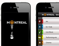 Montreal events mobile application