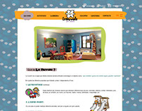 Kids play center website design