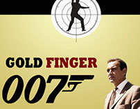 James bond movie poster