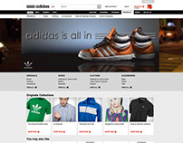 Adidas banners design