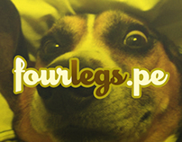 Fourlegs.pe: Social peeing for your best friend.