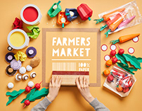 PAPER _FARMERS MARKET(paperstopmotion)