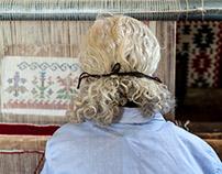Carpet weavers, Kotel, Bulgaria
