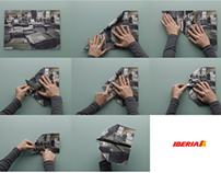 Iberia / Paper Plane / Print