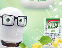 Tic Tac in a social networking