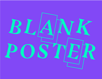 Weekly posters for Blankposter.com
