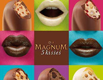 Magnum 5 kisses by Jesús Alonso for Lola