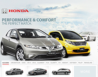 Honda Distributor Website