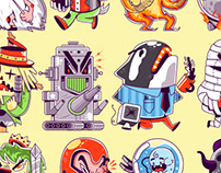 Characters Design for Video Game