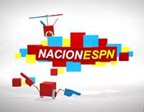 Nacion ESPN 3D Set (Student Work)
