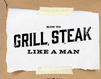 How To Grill Beef…Like A Man