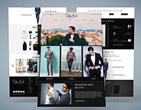 TailorMade Homepage Layout Mockup
