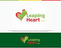 Leaping Heart (Chicken Farm Logo)