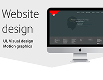 Website design | UI & visual design