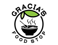 Gracia's Food Stop Logo