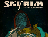 Skyrim Retro Art